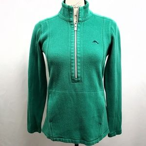 Tommy Bahama Half Zip Pullover Top XS